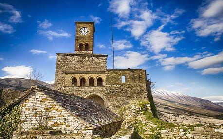 Krásy Albánie, Albánie, letecky, polopenze