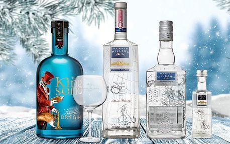Světově oceňované giny i sklenice na degustaci