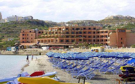 Malta letecky na 6-8 dnů, all inclusive