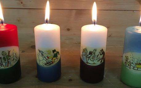 Vyrábění svíček a koupelové soli v dílně Rodas