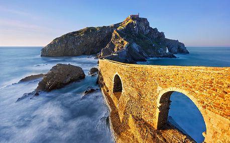 Baskicko, Španělsko, letecky, snídaně v ceně
