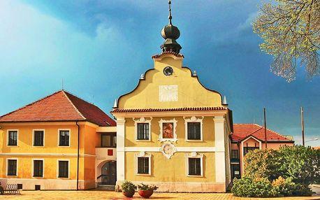 Dovolená pro dva v jižních Čechách s polopenzí