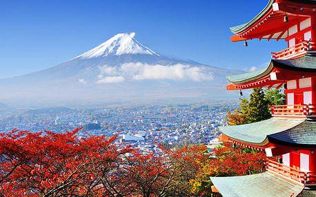 Zahrada prastarých tradic, Japonsko, letecky, snídaně v ceně