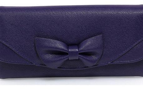 Dámská námořnicky modrá peněženka Lussy 1056A