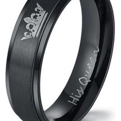 Prsteny pro páry - King a Queen - 2 barvy