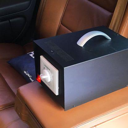 Čištění a desinfekce interiéru vozidla ozonem