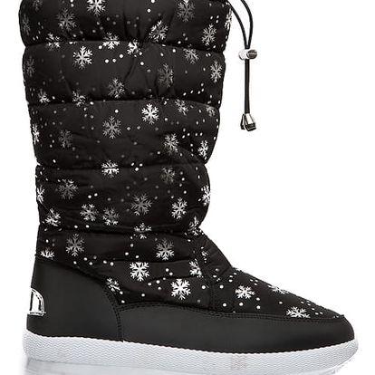 Dámské černé sněhule Vanessa 016
