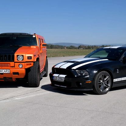 Hummer H2 GEIGER vs Mustang GT500 SHELBY