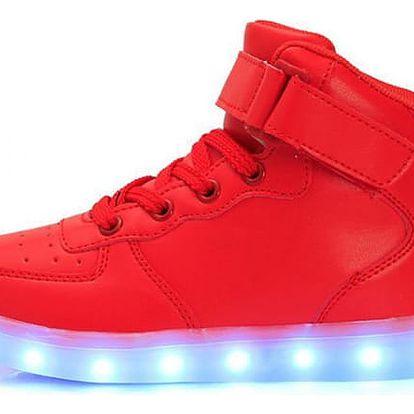 Unisex boty se svítící podrážkou - více variant