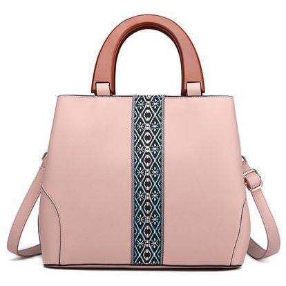 Dámská světle růžová kabelka Kallie 1843