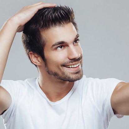 Pánský střih + masáž hlavy a závěrečný styling
