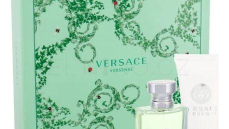 Versace Versense dárková kazeta pro ženy toaletní voda 30 ml + tělové mléko 50 ml