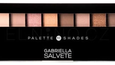 Gabriella Salvete Palette 10 Shades 12 g paletka očních stínů pro ženy 02 Nude