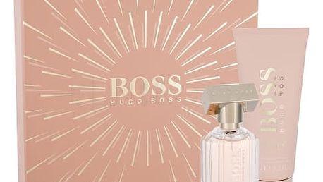 HUGO BOSS Boss The Scent For Her dárková kazeta pro ženy parfémovaná voda 30 ml + tělové mléko 100 ml