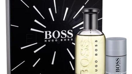 HUGO BOSS Boss Bottled dárková kazeta pro muže toaletní voda 200 ml + deostick 75 ml