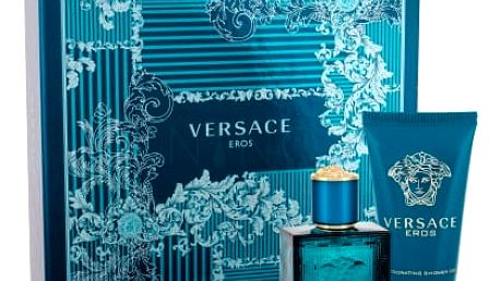 Versace Eros dárková kazeta pro muže toaletní voda 30 ml + sprchový gel 50 ml