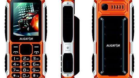Aligator R30 eXtremo černý/oranžový (AR30BO)