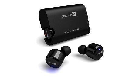 Connect IT True Wireless HYPER-BASS Bluetooth černé (CEP-9000-BK)