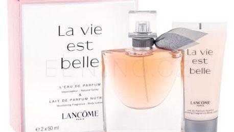 Lancôme La Vie Est Belle dárková kazeta pro ženy parfémovaná voda 50 ml + tělové mléko 50 ml