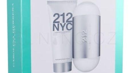 Carolina Herrera 212 NYC dárková kazeta pro ženy toaletní voda 100 ml + tělové mléko 100 ml