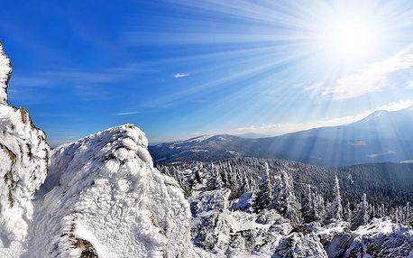 Šumava: Zimní pohoda v penzionu jen kousek od Boubínského pralesa a lyžařských středisek + polopenze