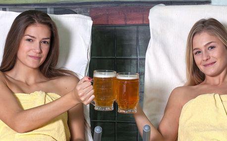 Rožnovské pivní lázně na 3 dny - santalová a středomořská péče