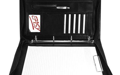 Spokey Obchodní složka/diplomatka Guriatti PANE se zipem - A4-B-03 černá