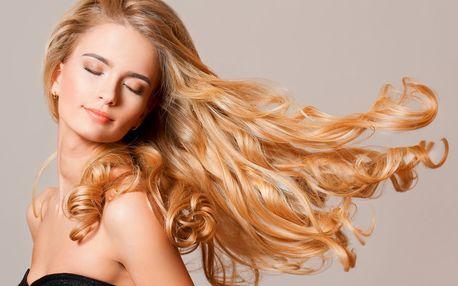 Střih i čištění vlasů od látek, které je zatěžují