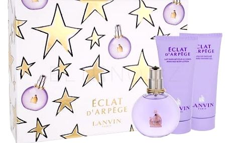 Lanvin Éclat D´Arpege dárková kazeta pro ženy parfémovaná voda 100 ml + sprchový gel 100 ml + tělové mléko 100 ml