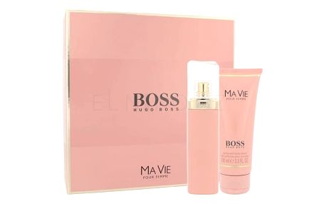 HUGO BOSS Boss Ma Vie Pour Femme dárková kazeta pro ženy parfémovaná voda 50 ml + tělové mléko 100 ml