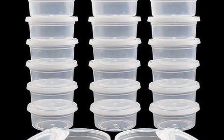 Sada plastových krabiček - 20 kusů