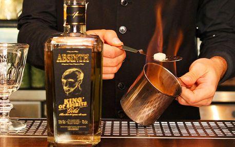 Připijte si: otevřený voucher do Absintherie