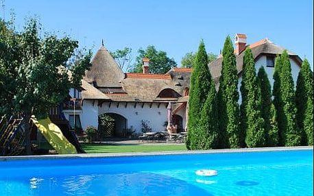 Letní pobyt v zemi termálních koupališť jižního Slovenska v oblíbeném penzionu Žitava