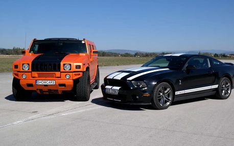 Hummer H2 GEIGER vs Mustang GT500 SHELBY