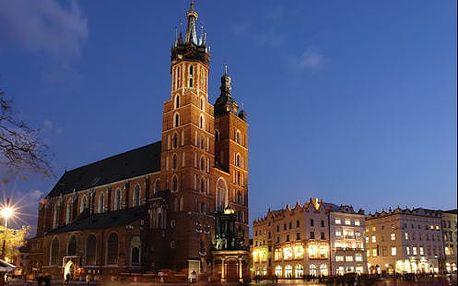 Hotel v Krakově u parku kousek od centra pro 2 osoby. Děti zdarma