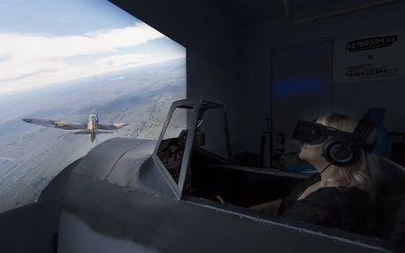 Bojový letecký simulátor + 15 minut ZDARMA