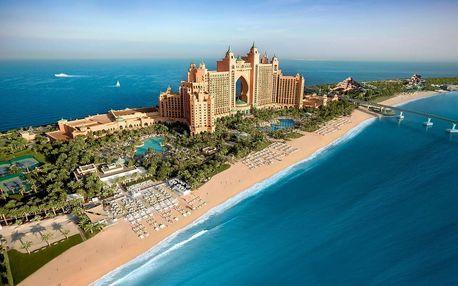 Spojené arabské emiráty - Dubai na 4 dny, polopenze s dopravou letecky z Prahy přímo na pláži