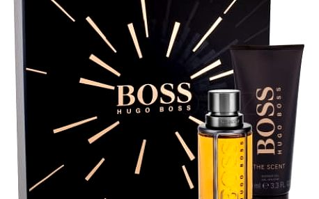 HUGO BOSS Boss The Scent dárková kazeta pro muže toaletní voda 50 ml + sprchový gel 100 ml