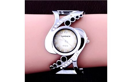 Dámské náramkové hodinky - černá - dodání do 2 dnů