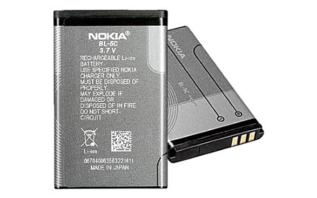 Nokia BL-5C, Li-Ion 1020mAh šedá (0278813)