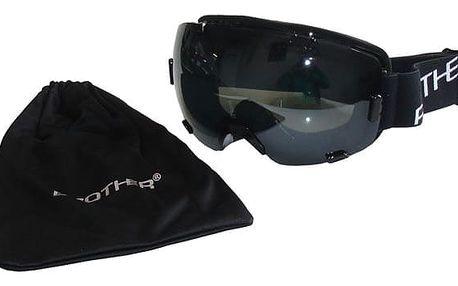 Brother 27945 Lyžařské brýle s velkým zorníkem - černé