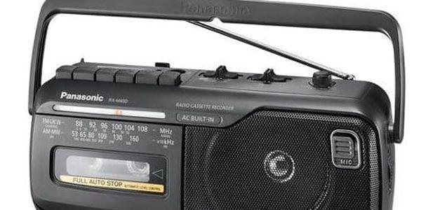 Radiopřijímač Panasonic RX-M40DE-K černý2