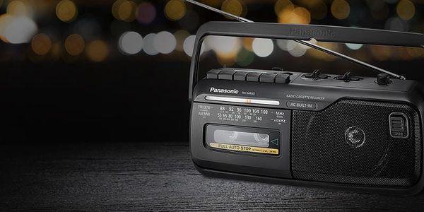 Radiopřijímač Panasonic RX-M40DE-K černý3