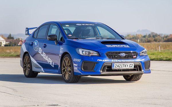Jízda v Subaru Impreza WRX STI + sprint na letišti