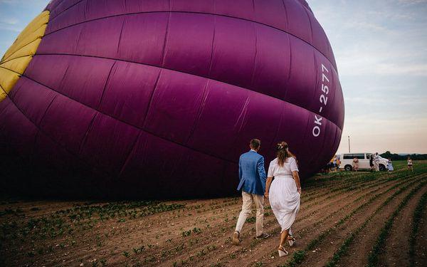 Svatba v balónu, Celá ČR, 7 osob, 3 hodiny2