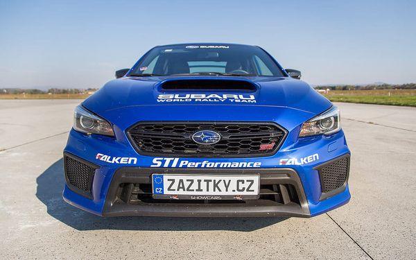 Jízda v Subaru Impreza WRX STI + sprint na letišti, Březina u Mnichova Hradiště, bez paliva, 1 osoba, 20 minut2