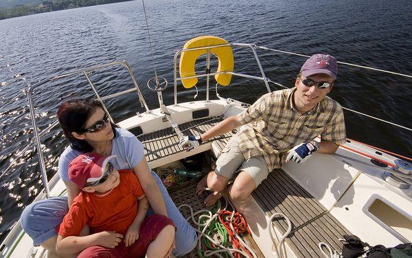 Dvoudenní pobyt na jachtě, Lipno nad Vltavou, 2 noci, 4 osoby, 3 dny5