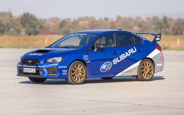 Jízda v Subaru Impreza WRX STI + sprint na letišti, Březina u Mnichova Hradiště, bez paliva, 1 osoba, 20 minut5
