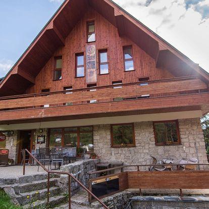 Jaro v oblíbeném Hotelu Stoh ve Špindlu s polopenzí a vířivkou
