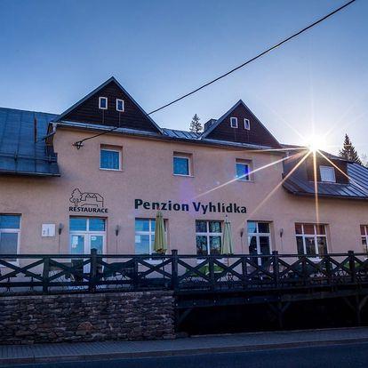 Penzion Vyhlídka na Šumavě s polopenzí a platností po celý rok